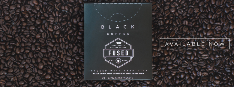 seed supplements rain fused coffee