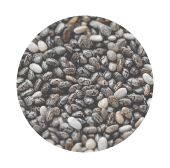 chia seeds rain form protein ingredients