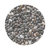chia seeds rain form protein ingredients